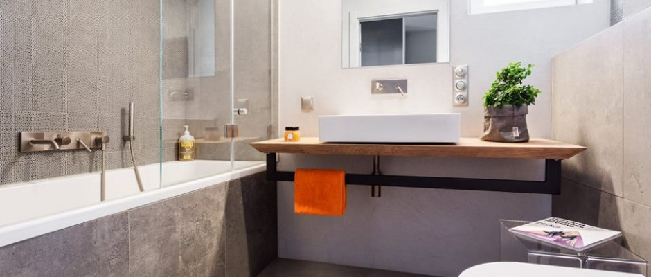 Płytki Ceramiczne Moje Własne M4 I Szara łazienka Realizacje